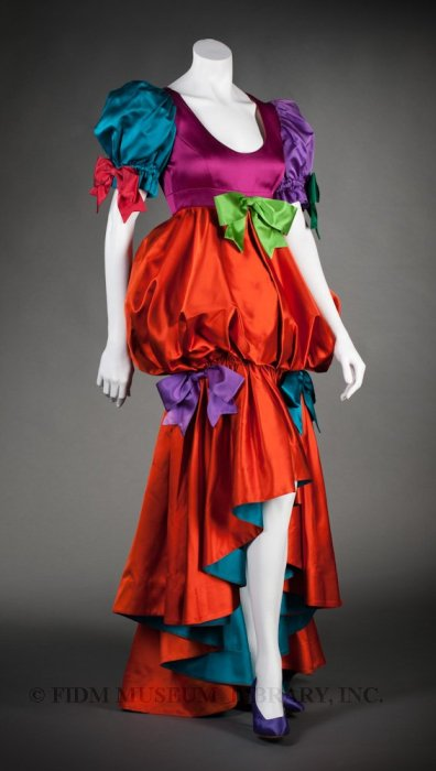 1992 Moschino Evening Gown