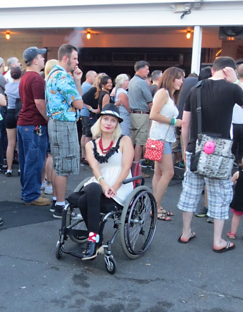 wheelchair disabled rude girl ska fashion