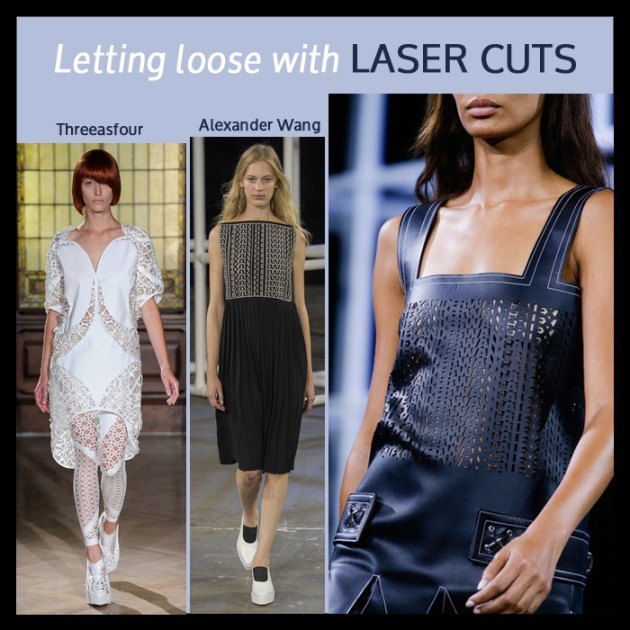 Laser-Cut-Trends in fashion