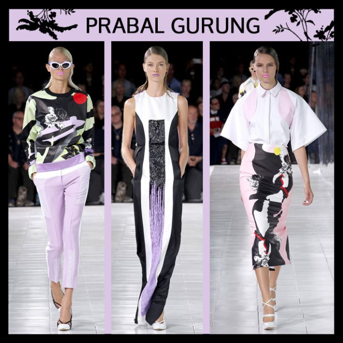 Prabal Gurung Spring 2014