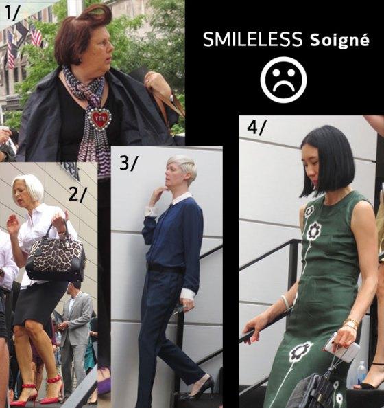 NY fashion editors and notables NY fashion week