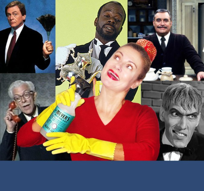 Famous TV male butlers