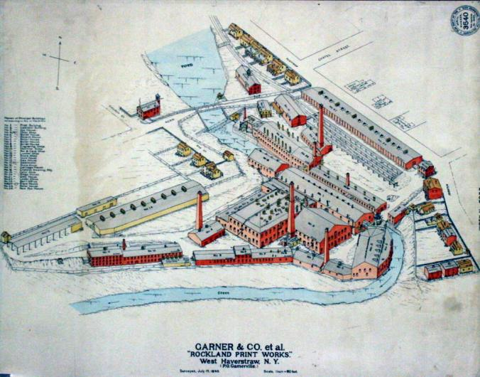 GAGA garnerville map site plan NY