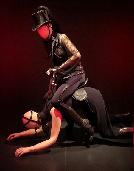 Madonna confessions tour Gaultier exhibit