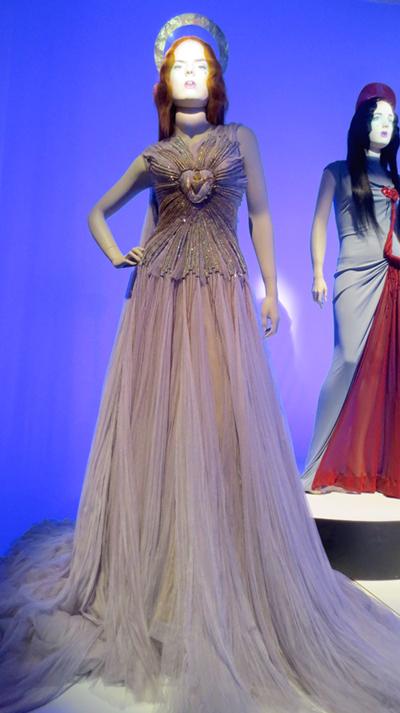 Aureole gown Jean Paul Gaultier Kylie Minogue