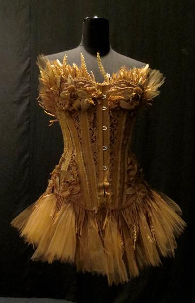 Countryside babes corset Gaultier