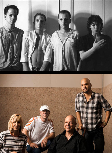 Pixies 80s and 2013 group shot