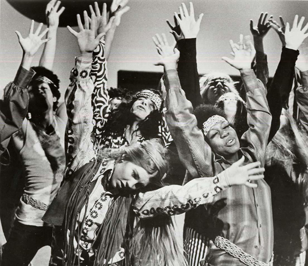 Dancing Hippies in fringe