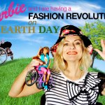 Wheelchair Barbie and I are having a fashion revolution on Earth Day