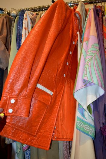 Orange Courreges Coat