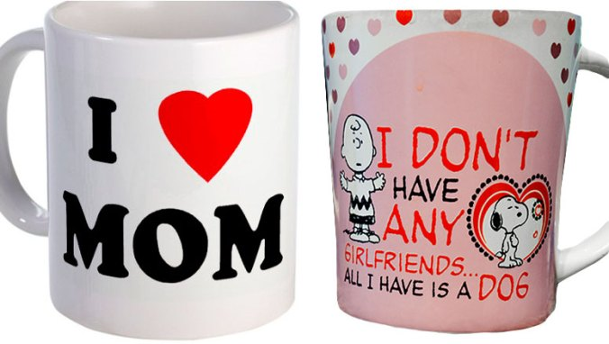 Ironic mugs for mother's day