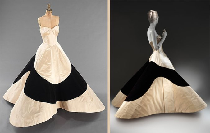 Charles James Clover Leaf Gown