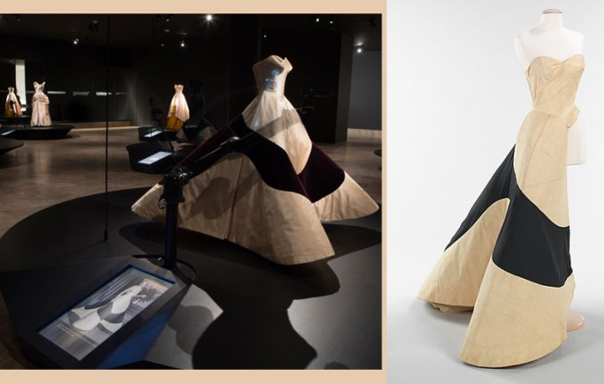 Clover Leaf Gown Charles James and in Muslin