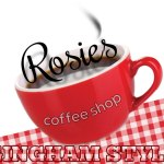 Rosie's Coffee Shop: GINGHAM-STYLE