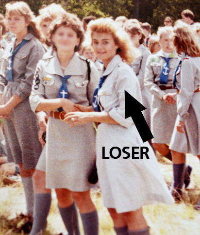 Polish girl scouts uniform in Canada