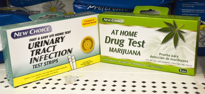 Marijuana drug test kit and UTI kit