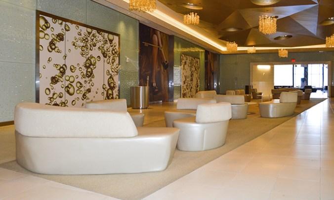 Green room area Revel Hotel Atlantic City