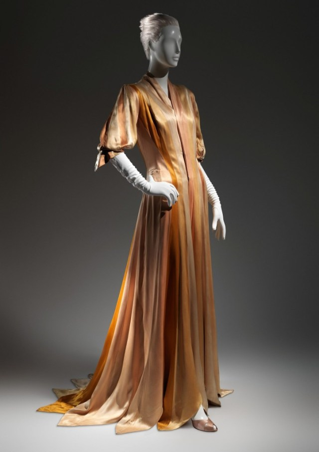 Charles James Ribbon Dress