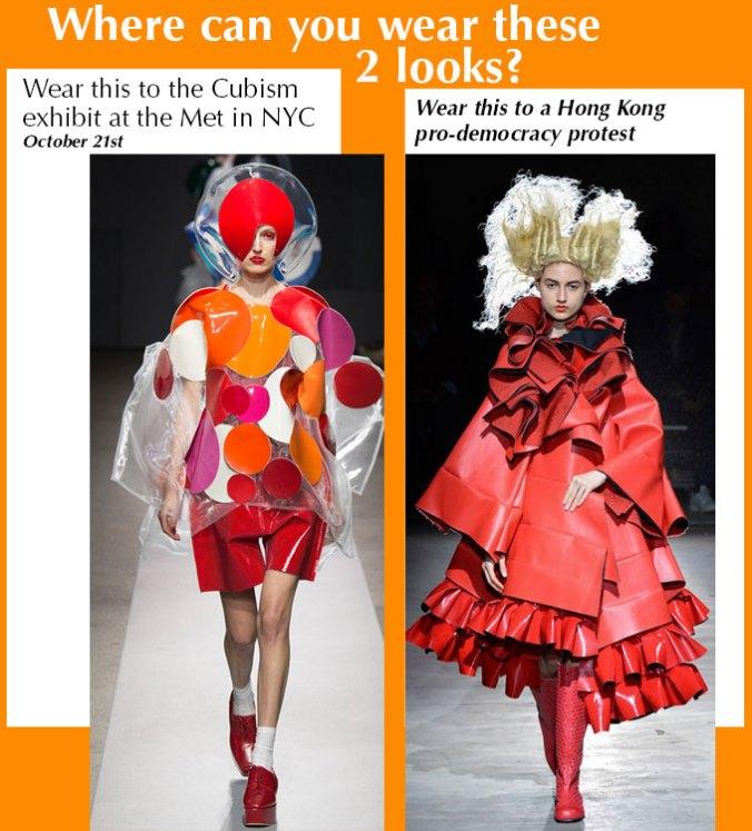 Junya Watanabe Comme Des Garcons Spring 2014 at Paris Fashion Week