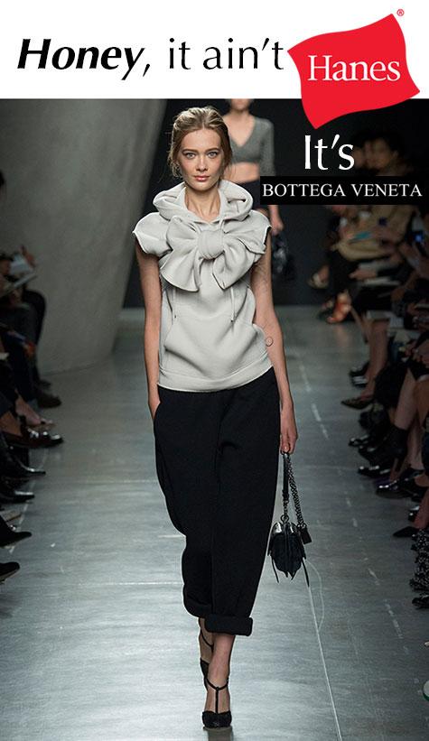 Bottega Veneta from Milan Fashion Week for Spring 2015