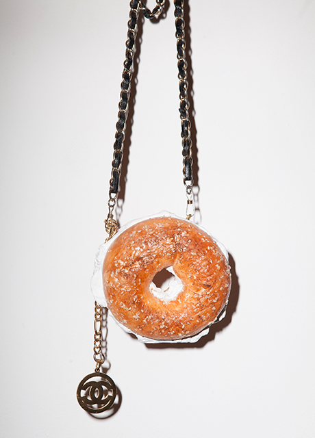 Chanel bagel bag purse