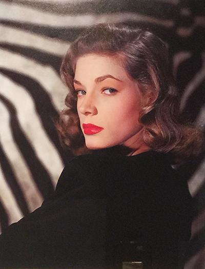 Lauren Bacall publicity photo 1946 tear sheet