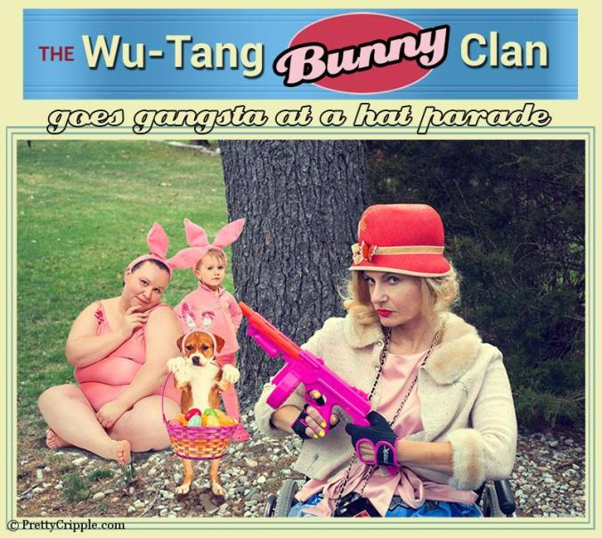 The Wu-Tang bunny clan goes gangsta at the NYC Easter Hat Parade