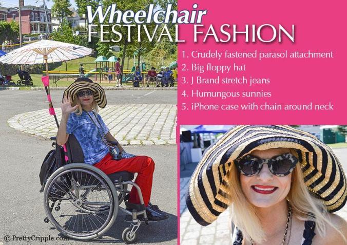 Music Festival Wheelchair fashion
