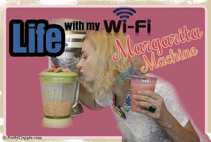 Life with a wifi margarita machine