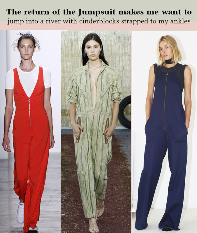 Jumpsuits for Spring 2016 from NY Fashion Week