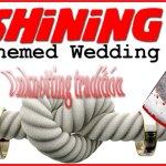 THE SHINING THEMED WEDDING: Unknotting Tradition