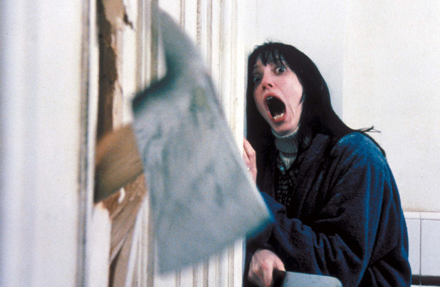 Jack Nicholson and Shelly Duvall in The Shining