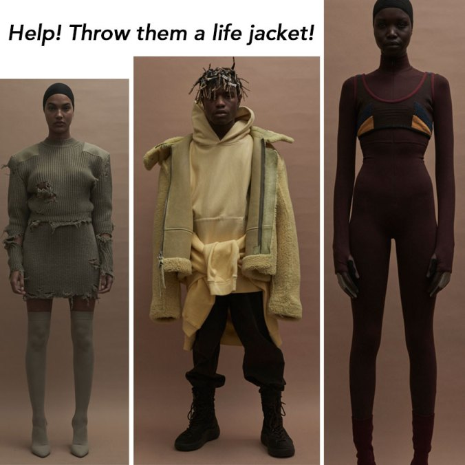 Yeezy collection NY Fashion Week February 2016