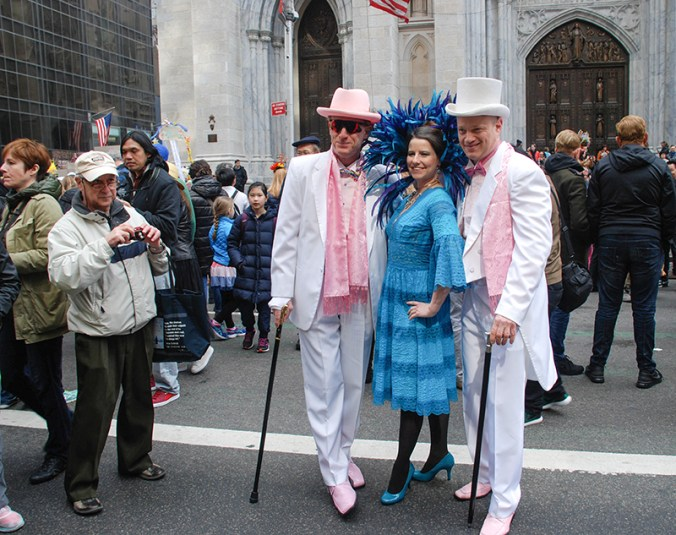 Vintage duo at the NYC Easter Hat Parade 2016