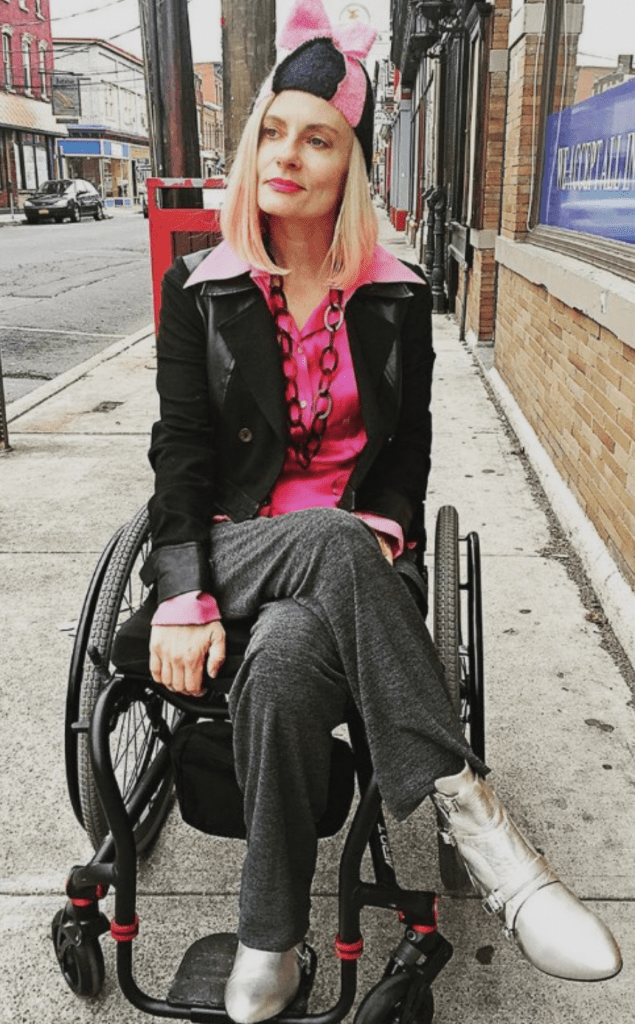disabled wheelchair blogger