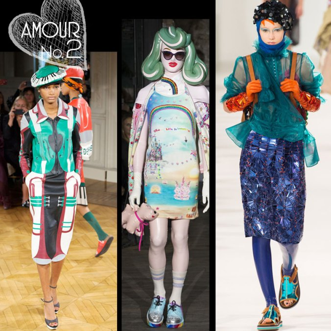 Spring 2017 fashion by Undercover, Manish Arora and Maison Margiela