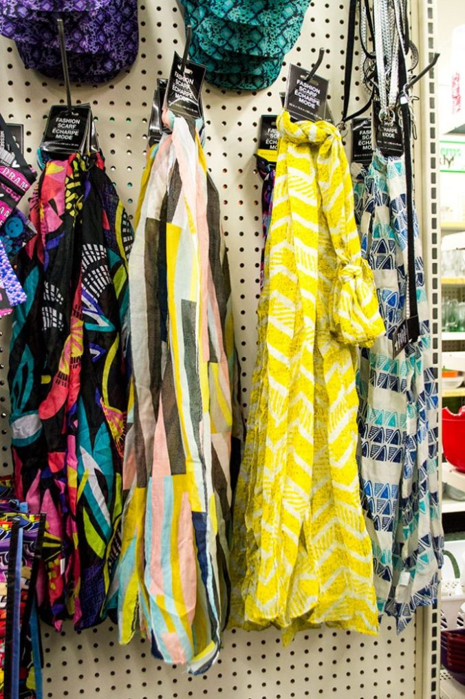 fashion scarves dollar tree