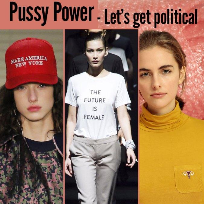 feminist & political fashion 2017
