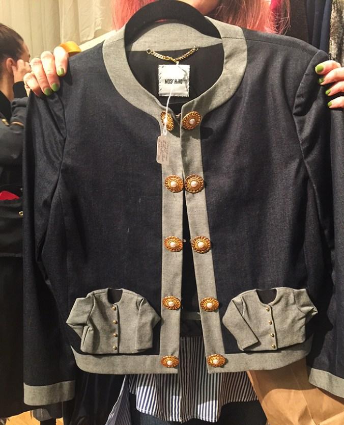 Moschino vintage jacket Manhattan Vintage show