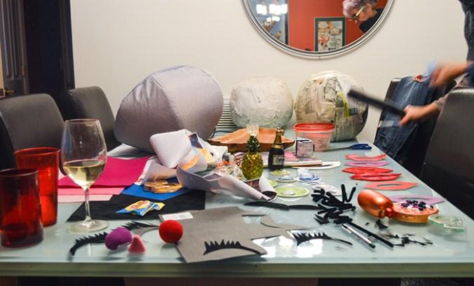 crafts supplies DIY project