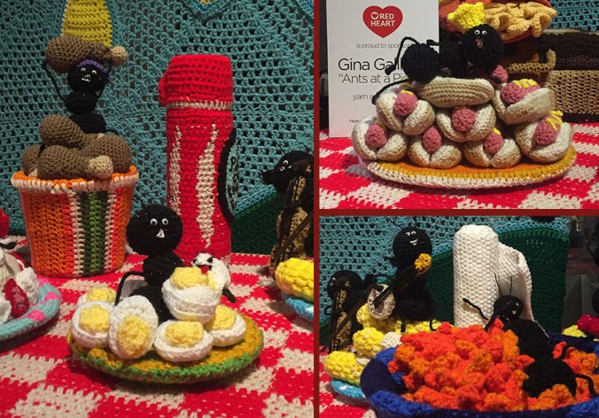 crocheted picnic