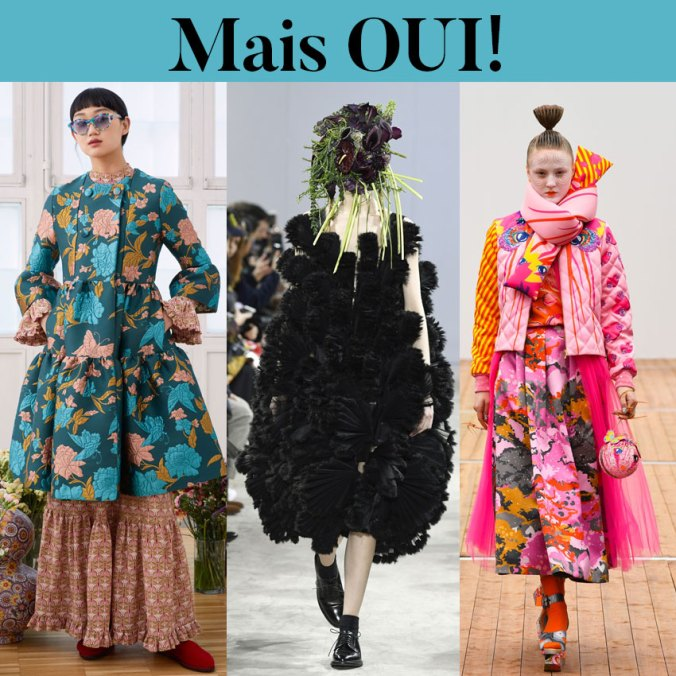 Paris Fashion Week trends fall 2018