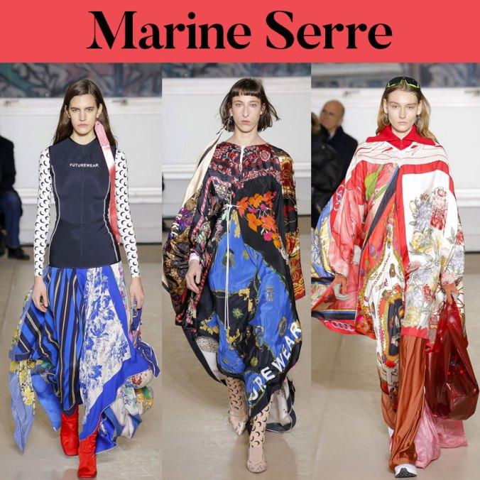 Marine Serre fall 2018