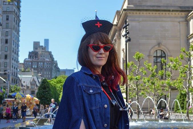 Fashion Nurse at the Met