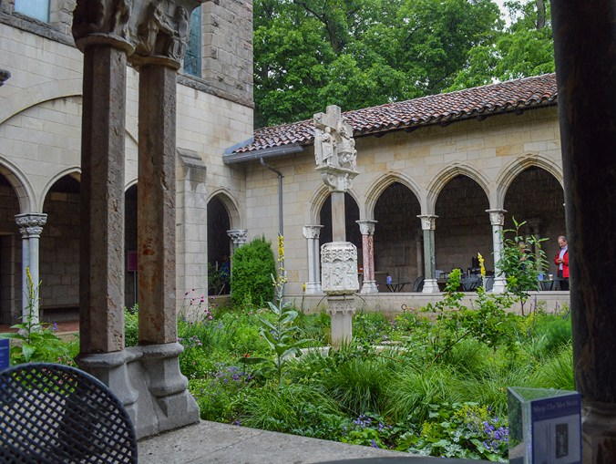 the cloisters outside