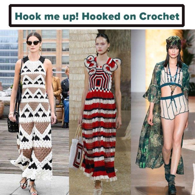 Crocheted knitwear NY Fashion Week spring 2019