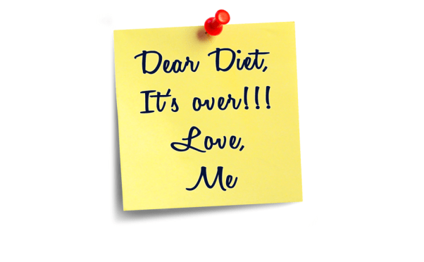 Why Going on a Diet Won't Work but Changing Your Perspective Will