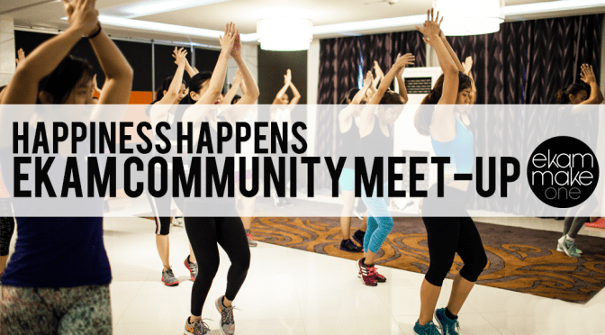 Happiness Happens: Ekam Community Meet-up