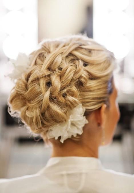 20 Glamorous Wedding Updos 2017  Romantic Wedding Hairstyle Ideas