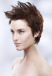 punk hairstyles women - stylish